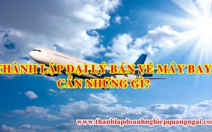 Tư vấn thành lập đại lý bán vé máy bay tại Quảng Ngãi